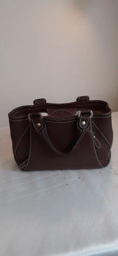 Braune Leder Handtasche