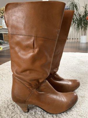 Akira Heel Boots brown