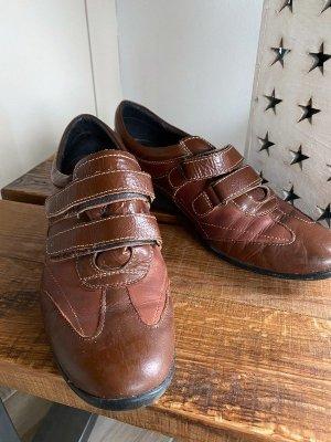 Braune Lederschuhe / Schuhe von Pikolinos, Gr. 39