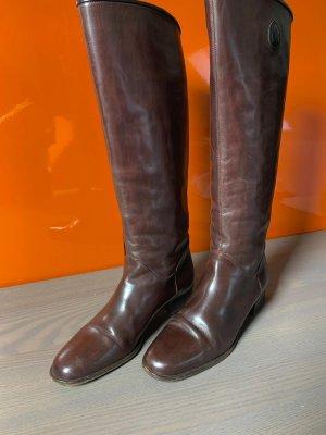 Vero Cuoio Ocieplane buty brązowy