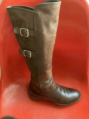 Bartu Fur Boots bronze-colored leather