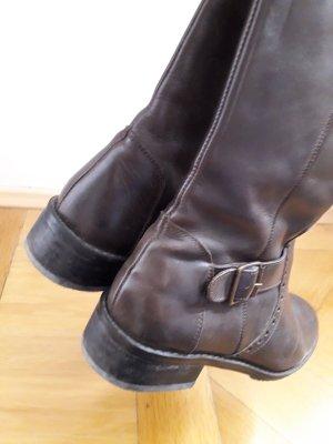 TCM Bottes à l'écuyère bronze-brun foncé cuir