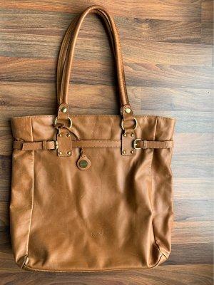 Assima Carry Bag cognac-coloured