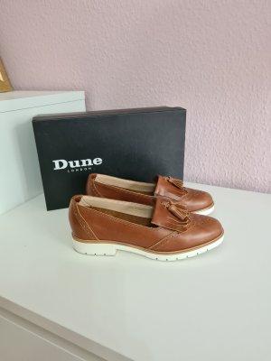 braune Loafer von Dune London
