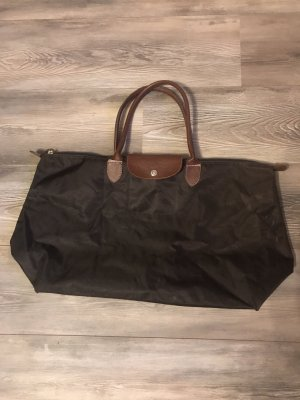 Braune longchamp Tasche