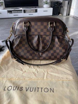 Braune Louis Vuitton Trevi Handtasche