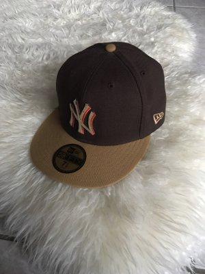 New Era Gorra de béisbol marrón-marrón claro
