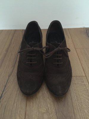 Braune Paul Green Schuhe