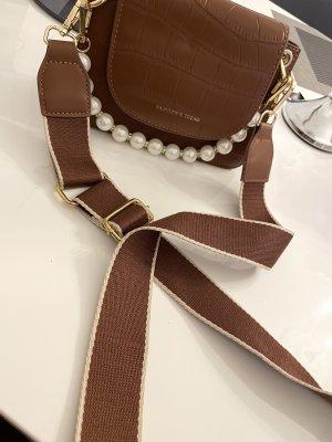 Braune Perlen Tasche Frauen Tasche