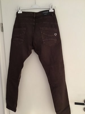 Please Baggy jeans donkerbruin