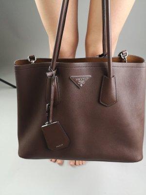 Braune Prada Bag (Henkel oder Schultertasche)