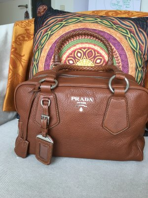 Prada Mobile Phone Case brown leather