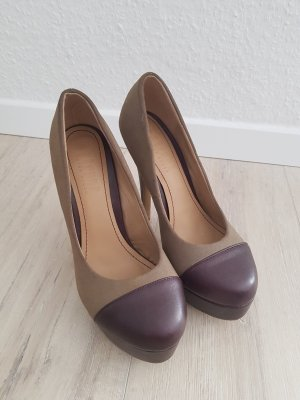 Braune Pumps