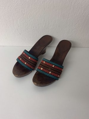 Gucci Zapatos de cuña multicolor