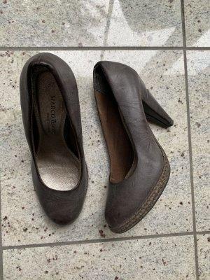 Braune Pumps High Heels von Marco Tozzi Gr. 37
