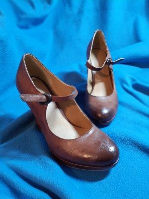 Graceland Escarpins Mary Jane brun