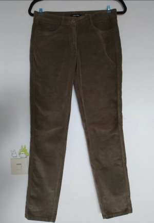 More & More Corduroy Trousers grey brown