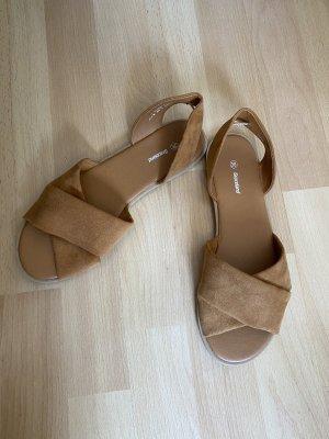 Deichmann Strapped Sandals light brown-brown