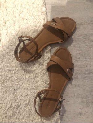 Esprit Comfort Sandals cognac-coloured