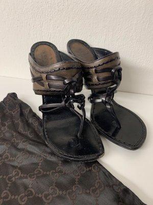 Braune Sandaletten GUCCI