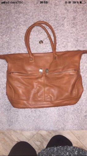 Braune schicke Handtasche in Top Zustand