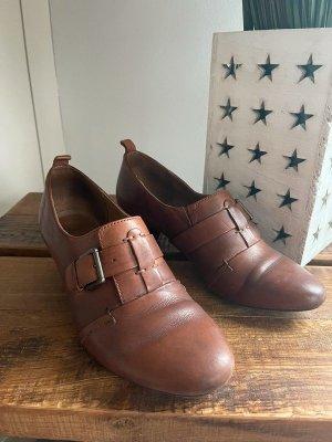 Braune Schuhe von Clark's, Gr. 38,5 / 5,5