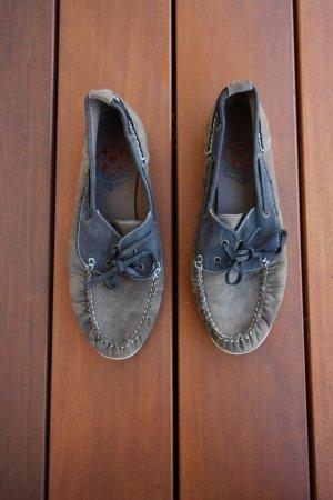 Sailing Shoes multicolored imitation leather