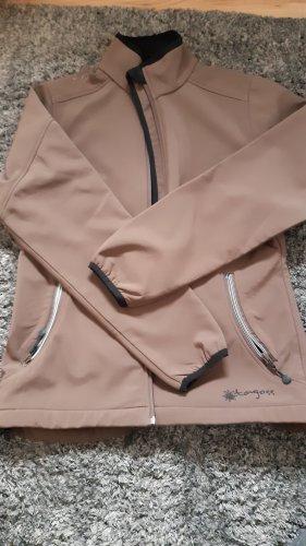 tagoss Giacca softshell marrone chiaro-marrone