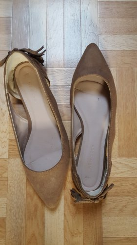 New Look Ballerinas with Toecap brown mixture fibre