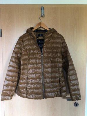 C&A OUTERWEAR Pikowana kurtka brąz