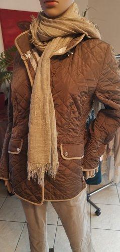 braune Steppjacke / Herbsjacke, Winterjacke in Top Zustand von Basler Gr 38