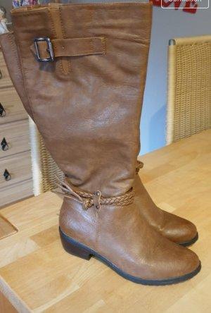 Buty zimowe brązowy
