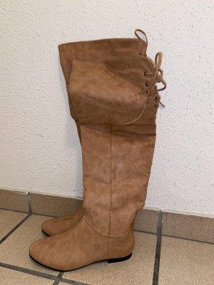 Wide Calf Boots multicolored