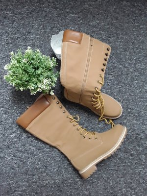 Lace-up Boots sand brown-light brown