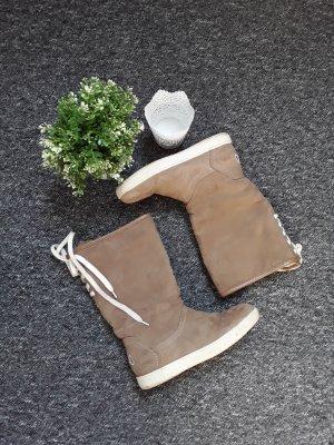Fila Bottes à lacets marron clair