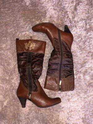 Braune Stiefel von S.Oliver