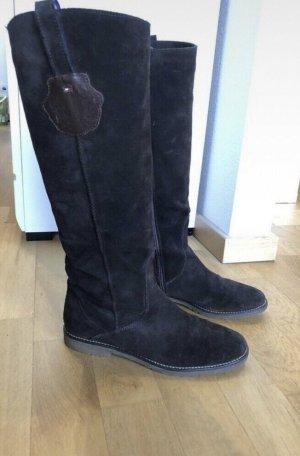 Braune Stiefel von Tommy Hilfiger in Größe 39