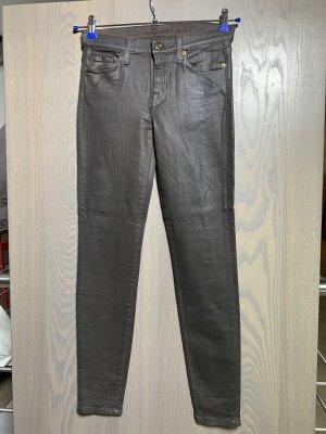 Braune Stretch -Jeans von