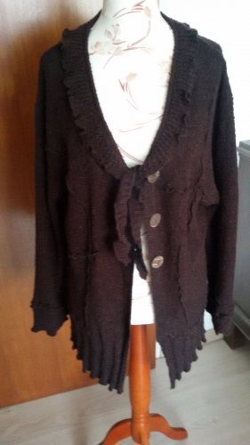 BELLA Wool Jacket dark brown