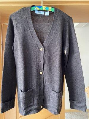 Shirt Jacket black brown-bronze-colored