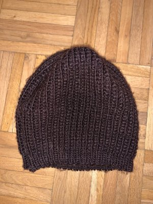 Knitted Hat multicolored polyester