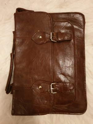 Braune Tasche Henkeltasche Umhängetasche