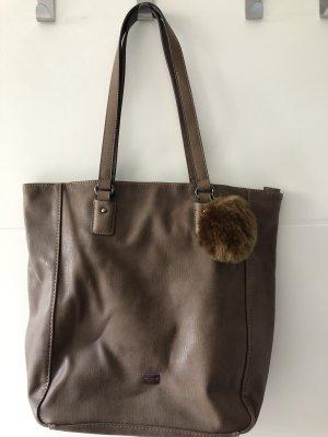 Braune Tasche/Shopper