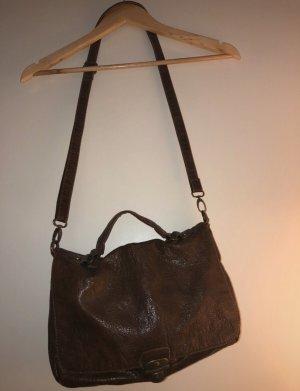 Braune Tasche zum umhängen