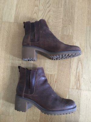 Braune Timberland Stiefeletten/Chelsea Boots