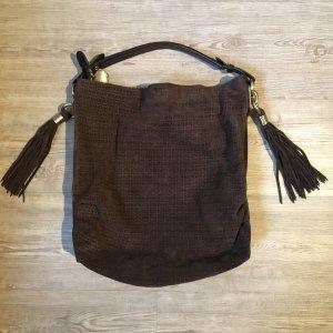 Tommy Hilfiger Sac porté épaule brun foncé