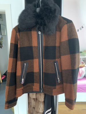 Braune Übergangs/Winter Jacke