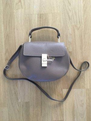 Crossbody bag grey brown