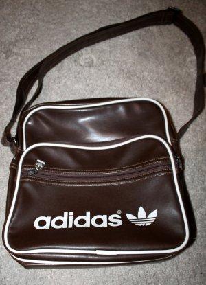 braune Umhängetasche von Adidas