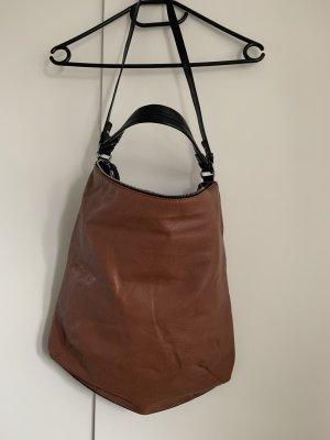 Braune Umhängetasche von Zara